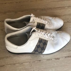 Gucci | Mens White Leather | Authentic | Size G 11